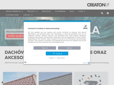 Dachówki betonowe - creaton.pl