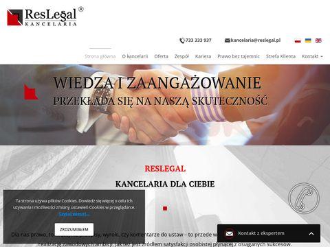 Reslegal kancelaria prawnik adwokat