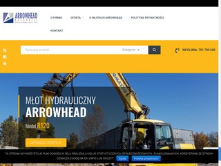 Arrowhead.com.pl młot do koparki