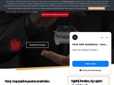 Autoklasa.pl sprowadzanie pojazdów