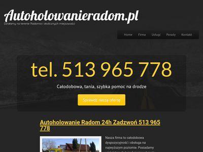 Autoholowanieradom.pl przewóz