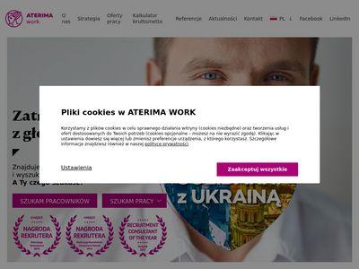Aterima.pl oferty pracy dla opiekunek