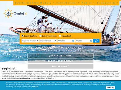 Zegluj.pl - Jachty bez patentu