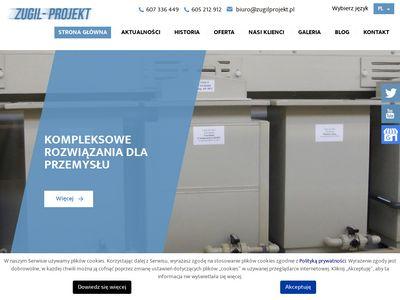 ZUGIL-Projekt myjki przemysłowe