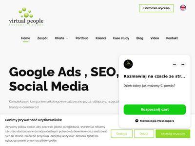 Virtualpeople.pl pozycjonowanie stron