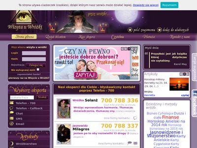 Wizytauwrozki.pl - wróżby online