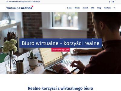 Wirtualna-siedziba.pl - obsługa spółek