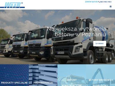 Waab.pl producent betonu