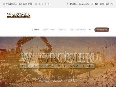 Wgromek.pl Kamieniarstwo Warszawa