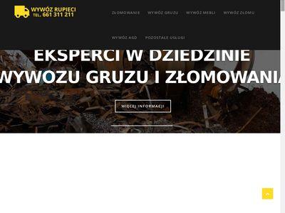 Wywozrupieci.pl - złomowanie pojazdów Warszawa