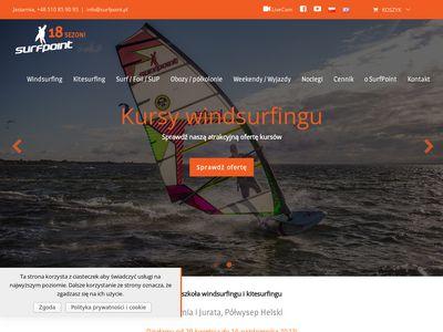 Kitesurfing szkoła jastarnia