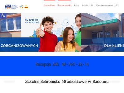 SSM RADOM - baza noclegowa