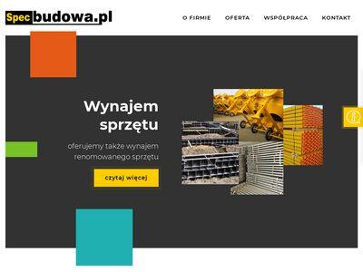 Specbudowa - internetowy skład budowlany