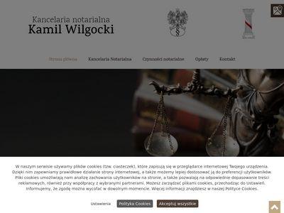Kamil Wilgocki kancelaria notariusza Szczecin
