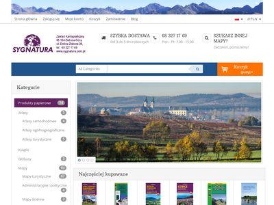 Sygnatura.com.pl Karkonosze mapa