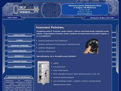 Serwis zabezpieczeń mechanicznych Sejf-Serwis s.c.
