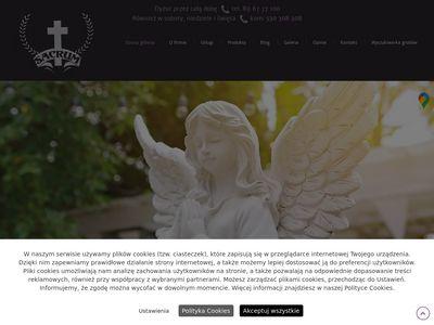 Sacrum wieńce pogrzebowe Olsztyn