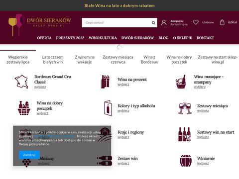Sklep-wina.pl sklep internetowy