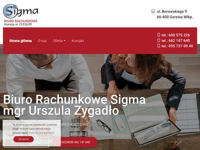 Sigma biuro księgowe Gorzów Wielkopolski