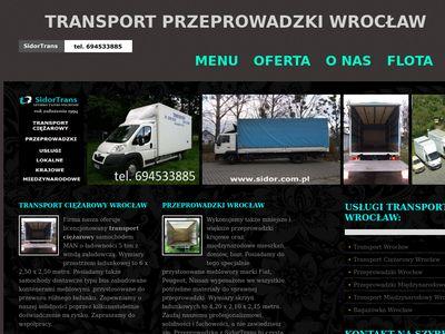 Transport Wrocław Z.U.H. Sidor