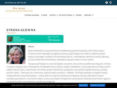 Jolanta Skwierawska - psychoterapia Kraków