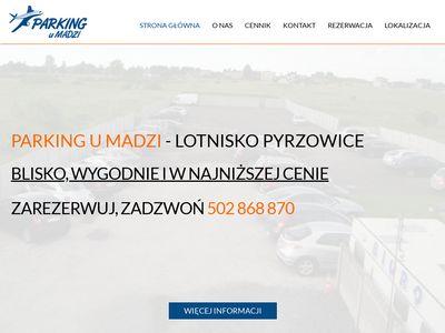 Parking u Madzi - Pyrzowice