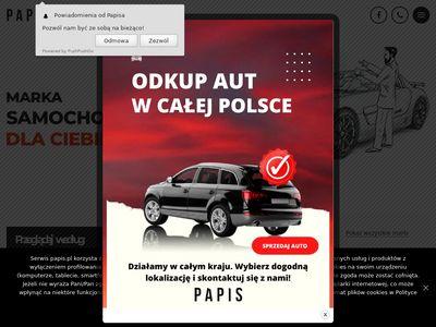 Papis.pl serwis blacharsko lakierniczy
