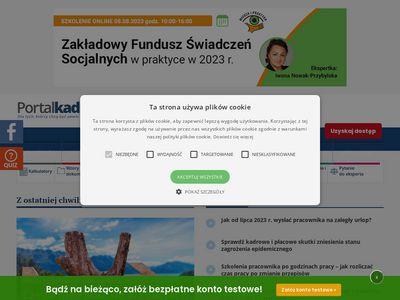PortalKadrowy.pl - kadry, płace, zus