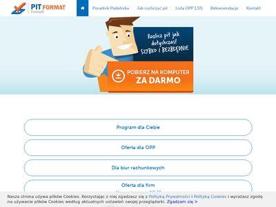 Pit-format.pl program rozliczenie 2019