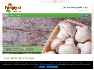 Fungipol. uprawa, eksport grzybów jadalnych