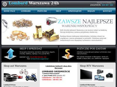 Lombard Mercury - warszawski-lombard.pl
