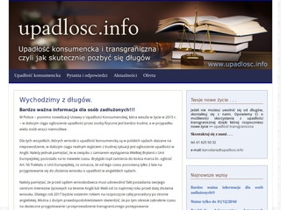 Upadlosc.info - Upadłość konsumencka
