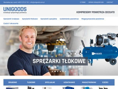 Unigoods.com.pl kompresory śrubowe