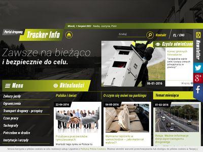 TrackerInfo.eu - portal dla kierowców