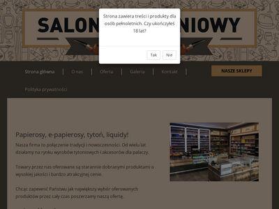 Cygareta.pl liquidy e-papierosy Tczew Bytów
