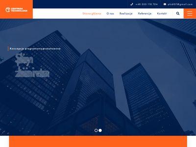 Centrum technologii koncepcje budowlane