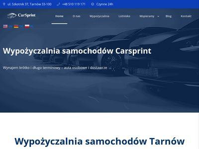 Carsprint.pl - wypożyczalnia samochodów Tarnów