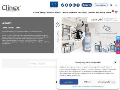 Clinex.com.pl profesjonalne środki czystości