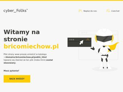 Bricomiechow.pl - farby i inne materiały budowlane