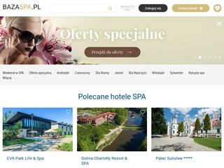 BazaSpa.pl - Najlepsze SPA w Polsce