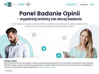 Badanie-opinii.pl płatne ankiety