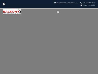 Balkony-zabudowa.pl - zabudowa balkonu