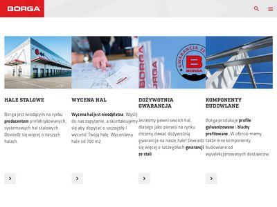 BORGA sp. z o.o. prefabrykowane hale stalowe