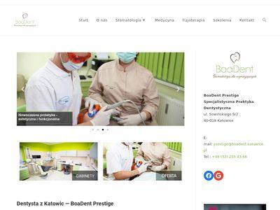 BoaDent Prestige - stomatologia dziecięca