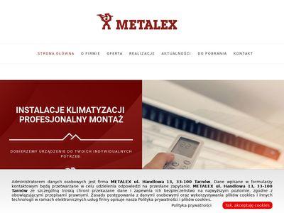 METALEX obróbki blacharskie