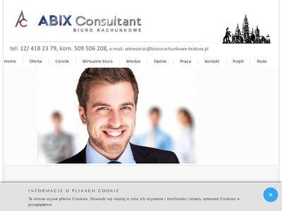 Abix Consultant usługi księgowe Kraków