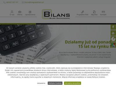 Bilans - biura rachunkowe