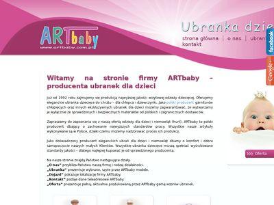 ARTbaby A. Dyba ekskluzywne ubranka dla dzieci