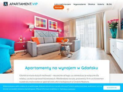 Apartament.vip - najem długoterminowy Gdańsk