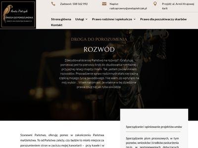 Adwokacirozwodowi.pl podział majątku Wrocław